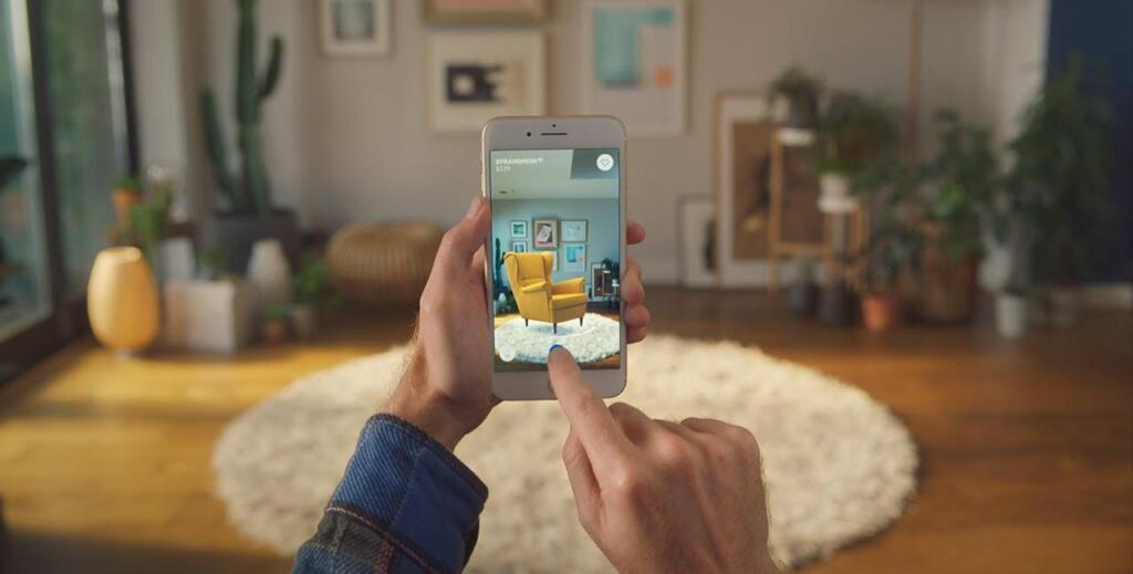 voorbeeld toepassing augmented reality